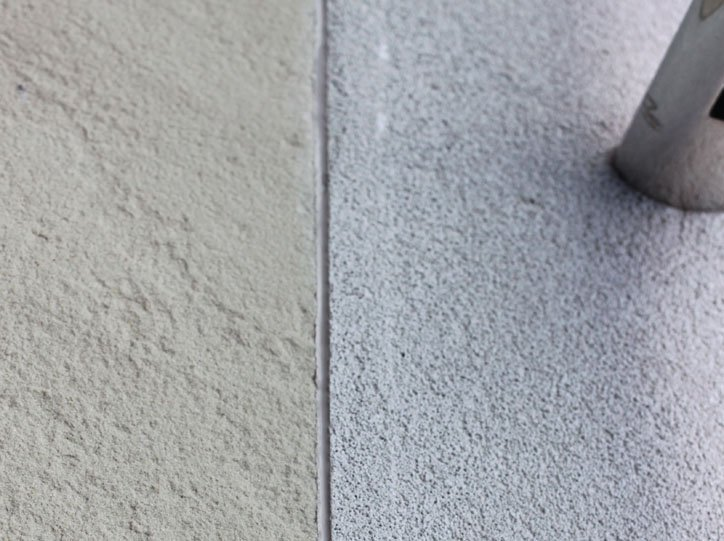 External Polyurethane Render to Tile