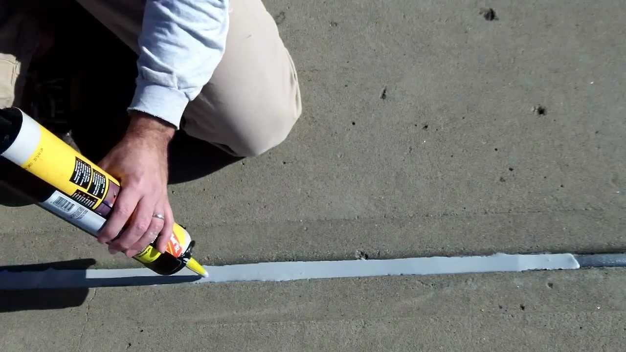 Silicone Concrete Expansion Joint Sealants